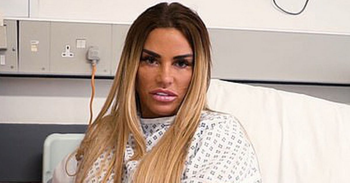 Katie Price rushed to hospital in agony as doctors fear severe infection in feet