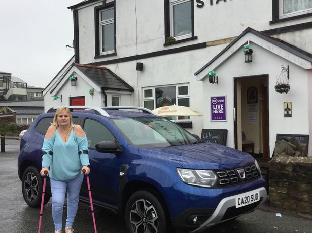 Jillie Stross bought her Dacia Duster SE Twenty from Wessex Garages in Newport, Wales, last month