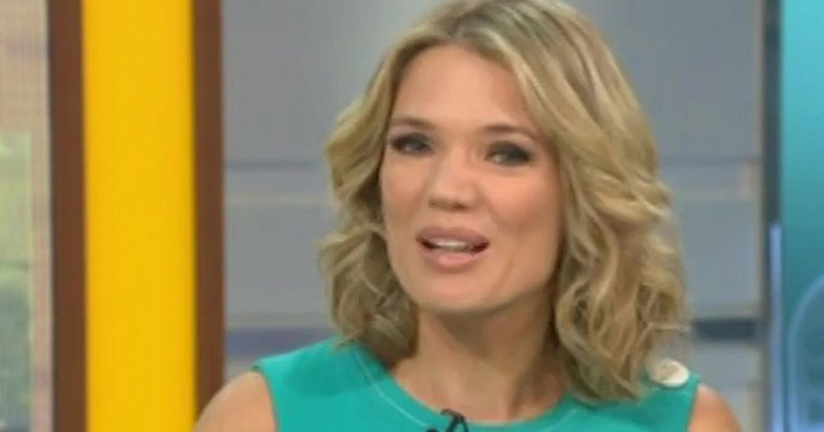 Charlotte Hawkins 'almost left half-undressed after GMB wardrobe malfunction'
