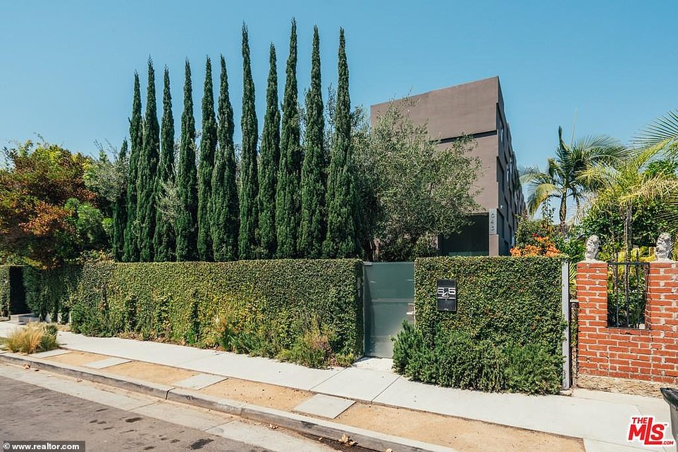 Hidden gem: The security is impressive with high walls around the home and plenty of mature trees to keep prying eyes out. Most of the house can not be seen from the street