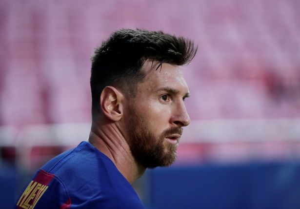City are already believed to be in talks with Barcelona over Messi's transfer