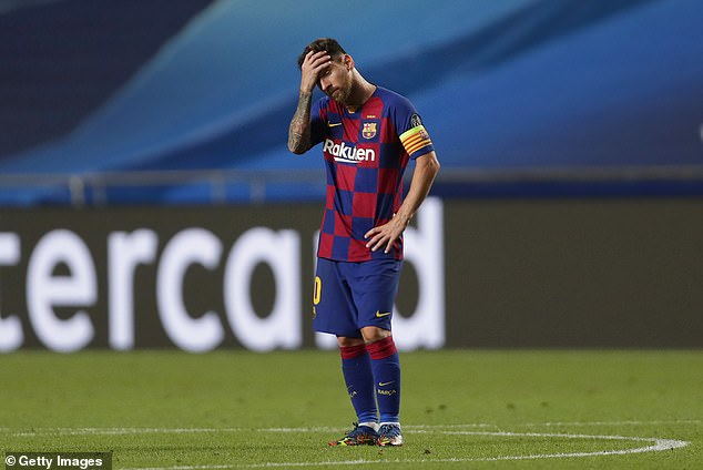 Messi sensationally informed Barcelona this week that he wants to leave the club this summer