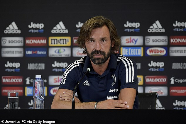 Pirlo was recently unveiled as the shock successor to Maurizio Sarri in the Juventus dugout
