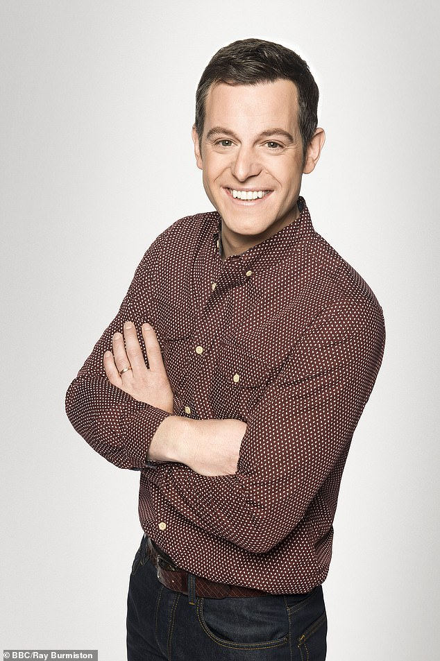 In the works: The One Show's Matt Baker is also among those rumoured to be in talks, after saying goodbye to the evening chat show earlier this year