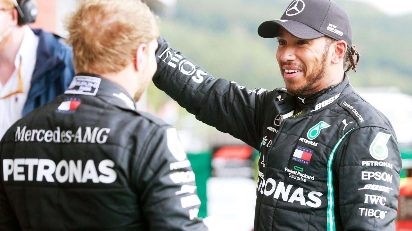 Belgian GP: Lewis Hamilton wins to stretch title lead, Ferrari out of points