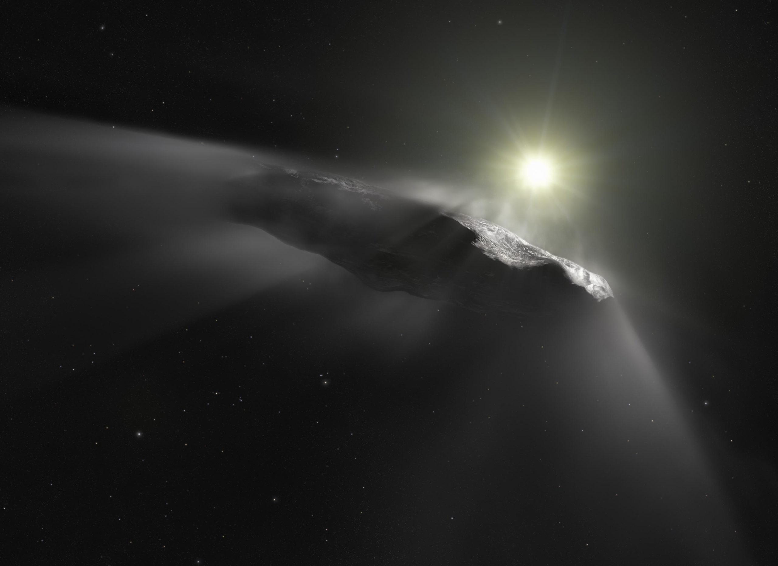 A different Twist in the Discussion Over the Origins and Composition of Mysterious Interstellar Object 'Oumuamua