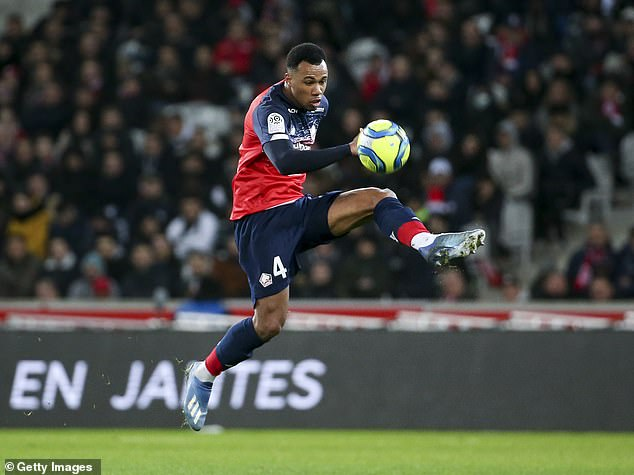 Arsenal 'just hours absent from settlement with Lille defender Gabriel Magalhaes'