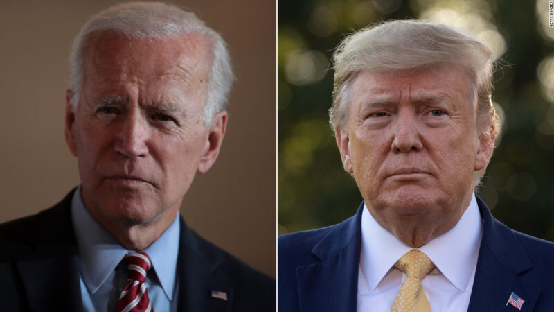 CNN Poll of Polls: Biden holds a nine-point lead over Trump ahead of the party conventions