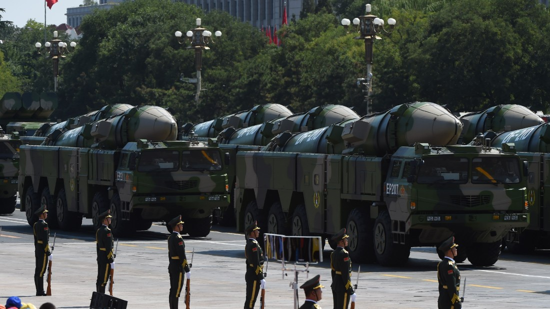 China check fires so-referred to as 'carrier killer' missiles into South China Sea