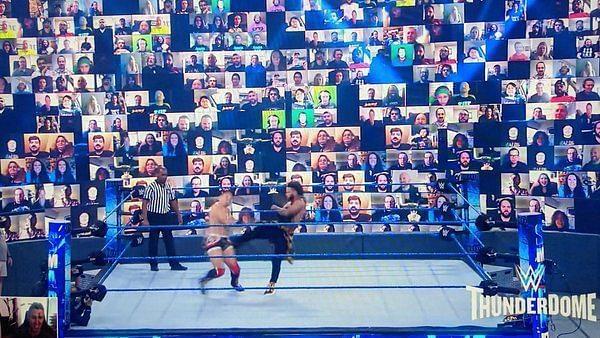 Chris Jericho reveals gain AEW has on WWE ThunderDome