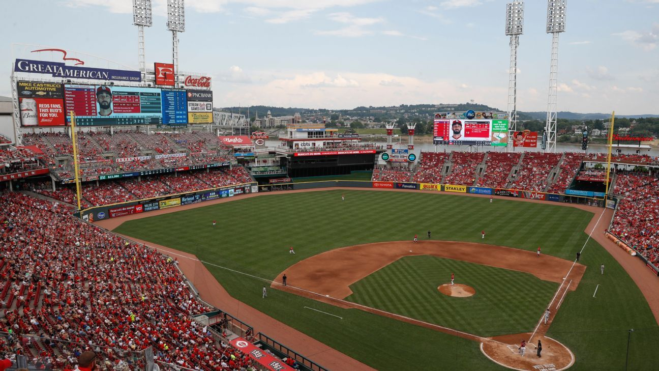 Cincinnati Reds player tests positive for coronavirus