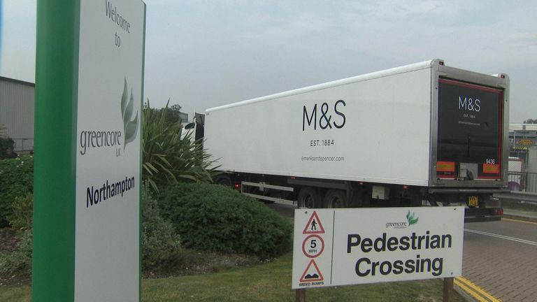 The Greencore factory makes sandwiches for M&S