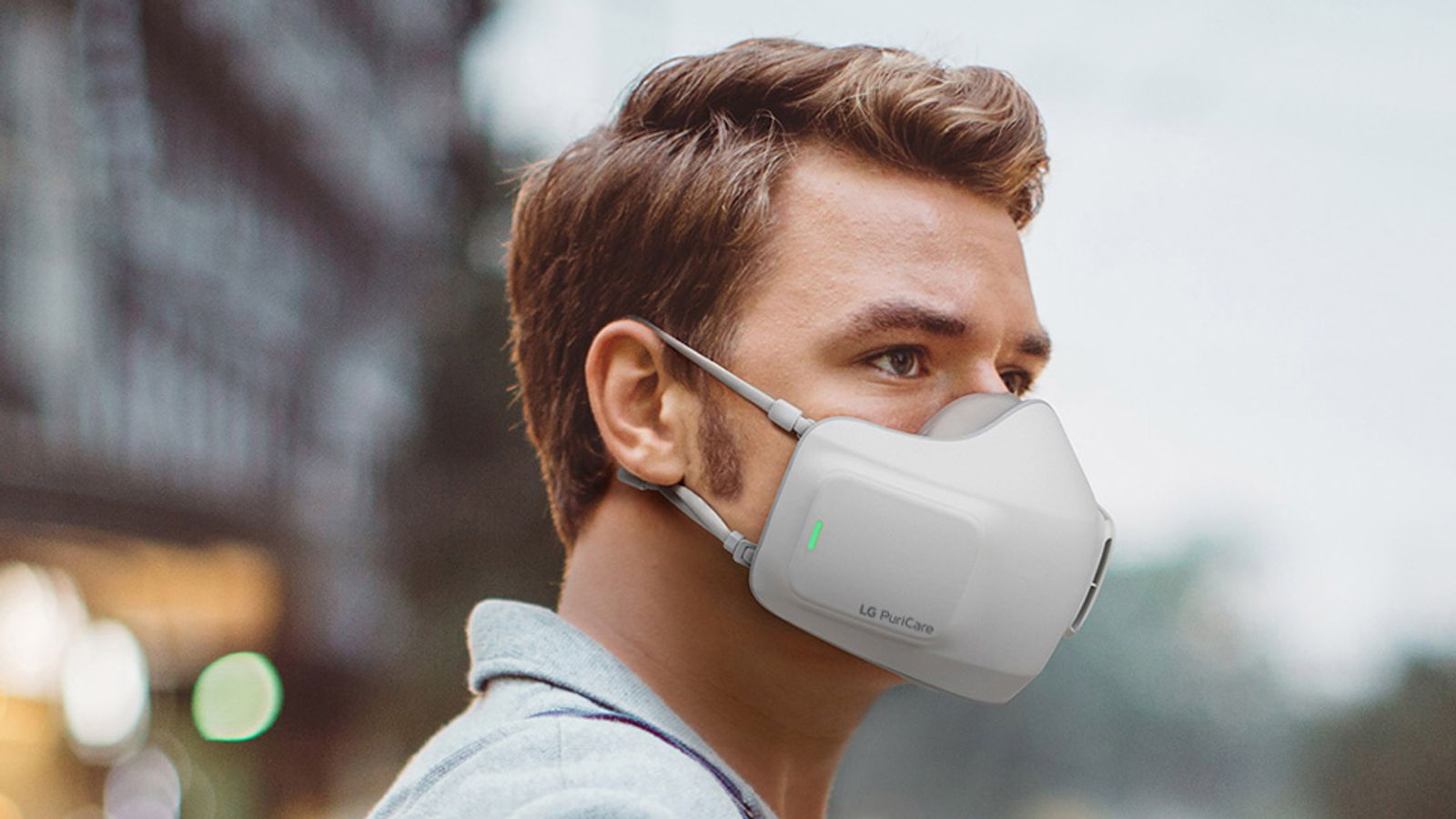 Coronavirus: LG unveils battery-powered experience mask dubbed 'wearable air purifier' | United kingdom Information
