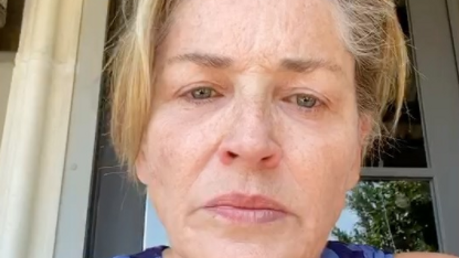 Coronavirus: Sharon Stone attacks 'non-mask wearers' as her sister fights for her life | Ents & Arts News