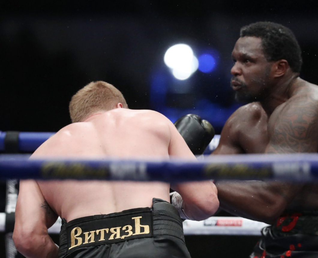 Dillian Whyte knocked out chilly by Alexander Povetkin in breathtaking upset defeat at Fight Camp