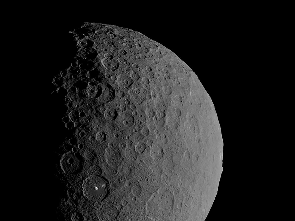 Dwarf world Ceres is 'ocean world' with salty water deep underground