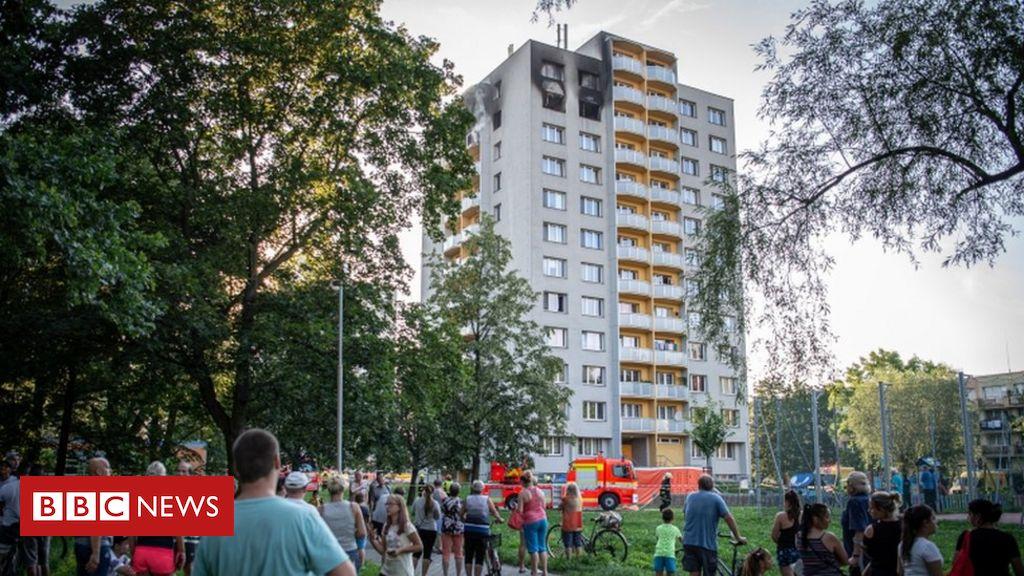 Eleven die in fire in Czech Republic tower block