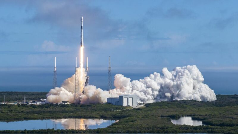 Watch SpaceX launch a Falcon 9 rocket on a record-breaking sixth flight to space