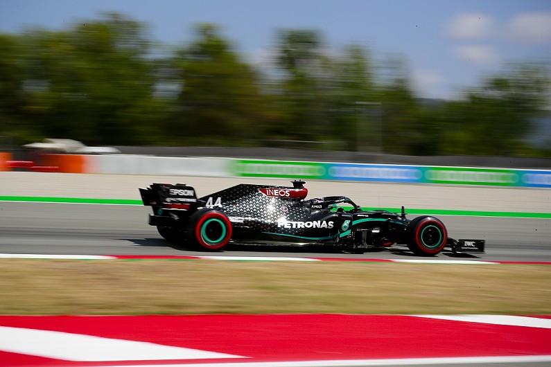 F1 Spanish GP: Hamilton narrowly edges Bottas for pole position - F1