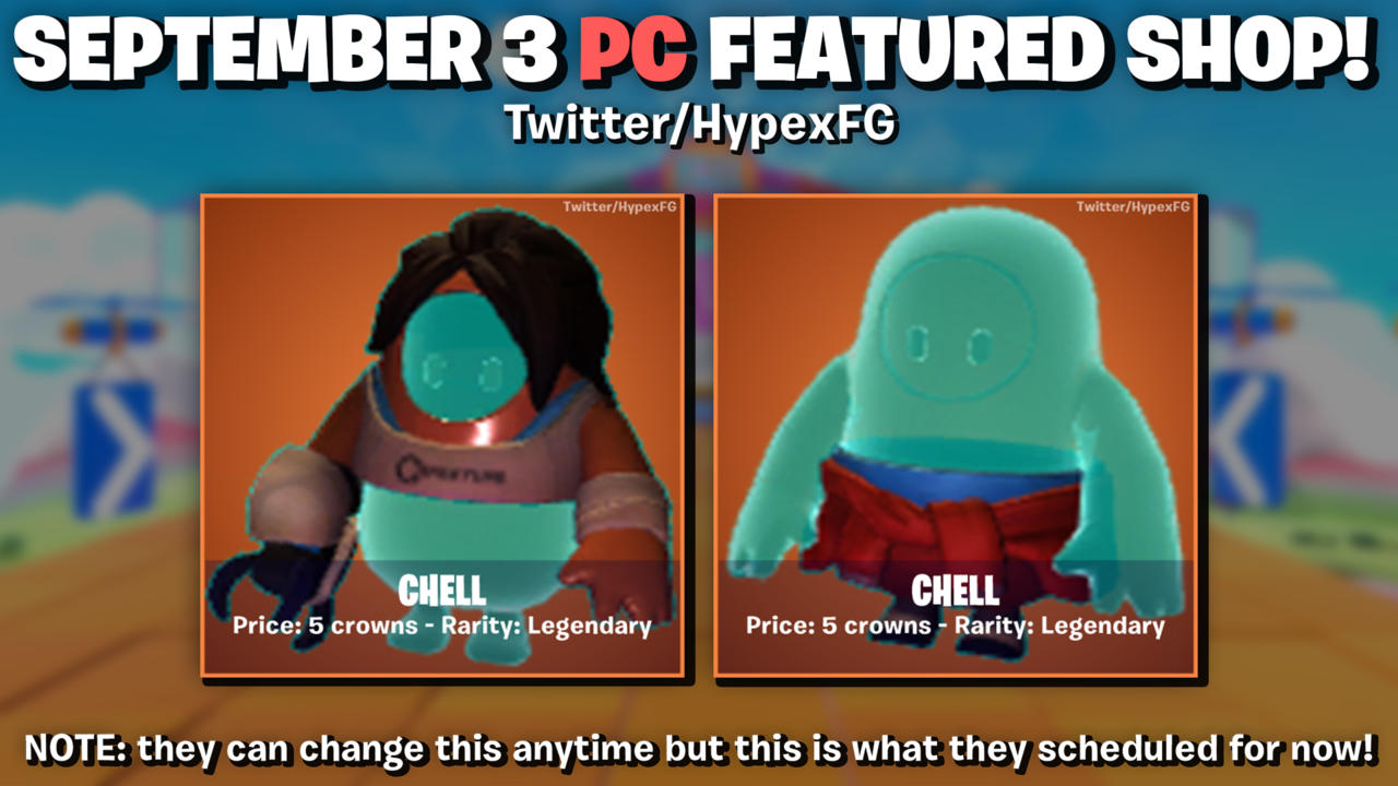 Chell costume for Fall Guys