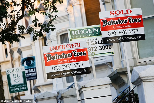 Mortgage firms are hiking rates and axing deals at the last minute as they struggle to cope with the tide of applicationsfollowing a recent cut in stamp duty (file photo)