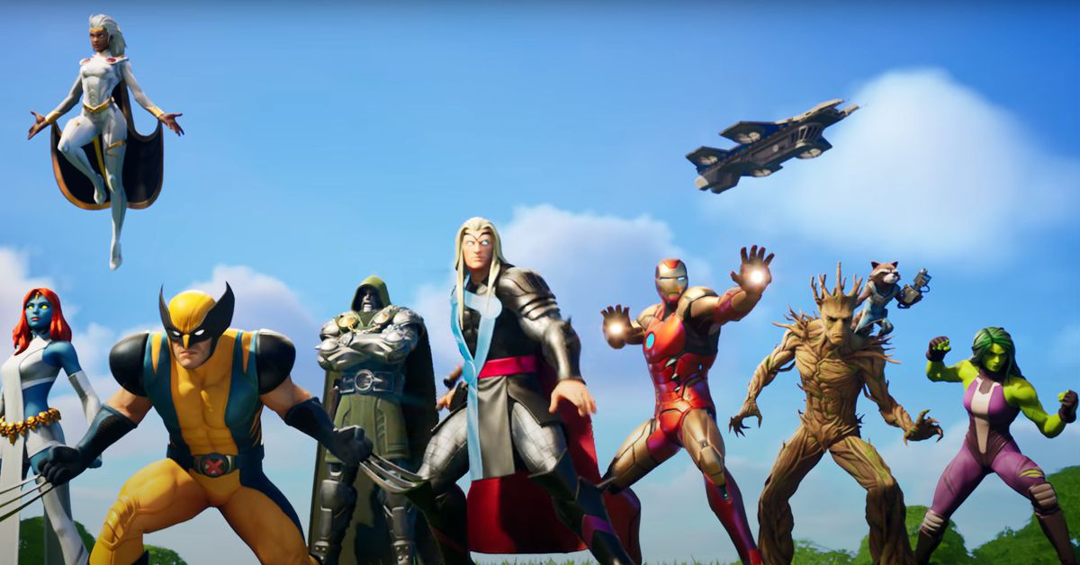 Fortnite's Chapter 2 year 4 Marvel cinematic and battle go trailer