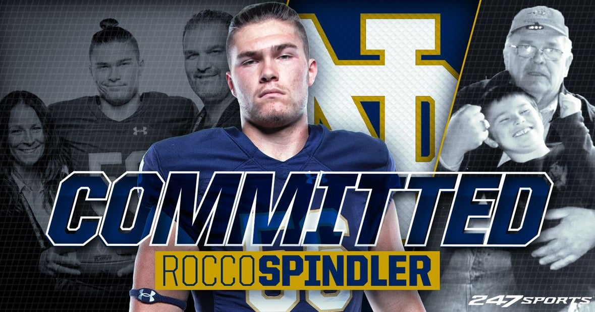 Four-Star OL Rocco Spindler Commits to Notre Dame