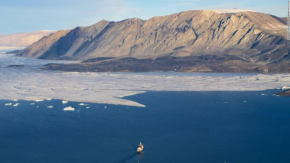 Greenland's ice sheet has melted to a level of no return, study finds
