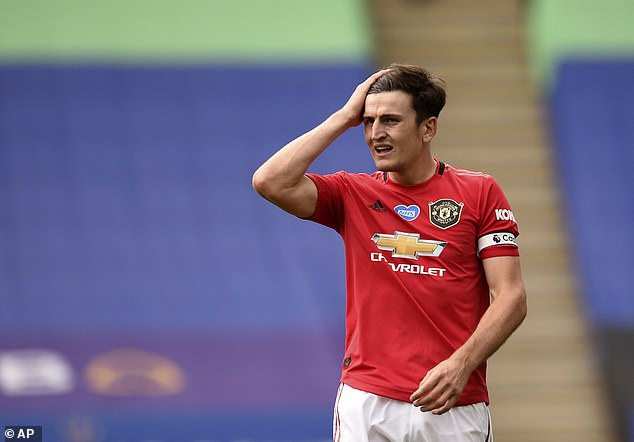 Manchester United captain Harry Maguire is a player who leads his team-mates by example