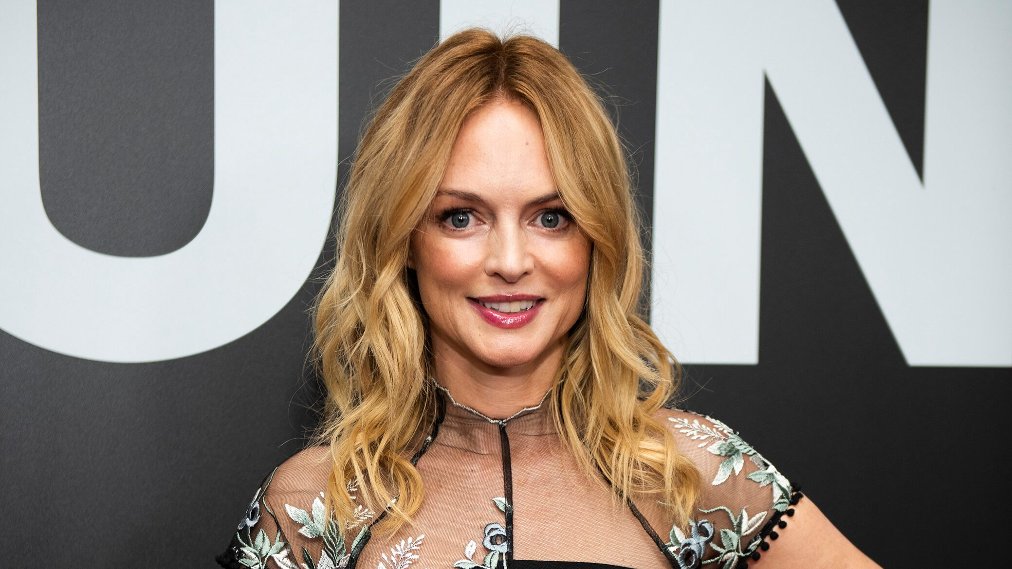 Heather Graham zens out at the beach front through 'this outrageous year'