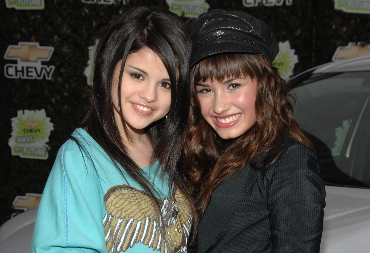 Selena Gomez and Demi Lovato at