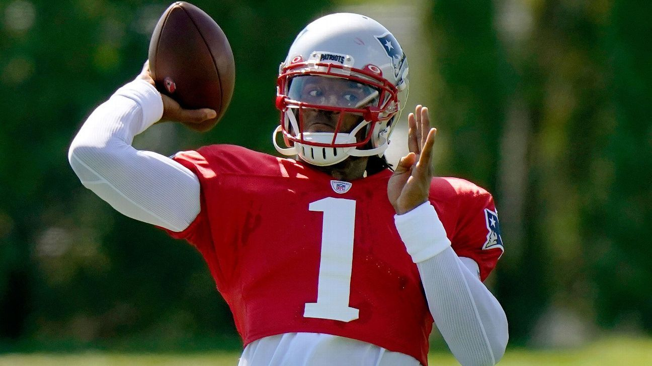 'I would look at something,' such as Patriots QB platoon with Cam Newton