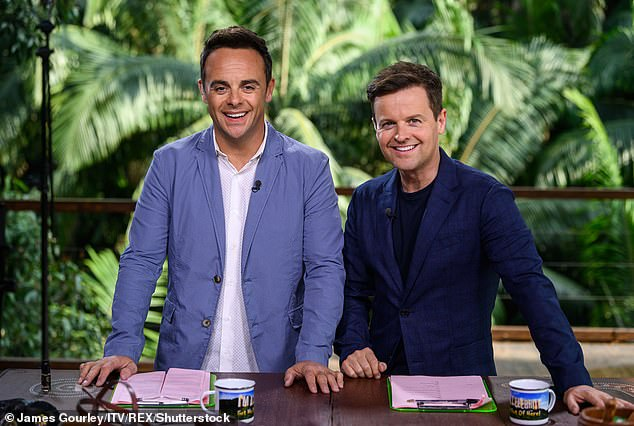 Exciting: Kevin Lygo, the Director of Television at ITV, has revealed that all stars for this year's I'm A Celebrity... Get Me Out Of Here! have been confirmed (hosts Ant and Dec pictured)