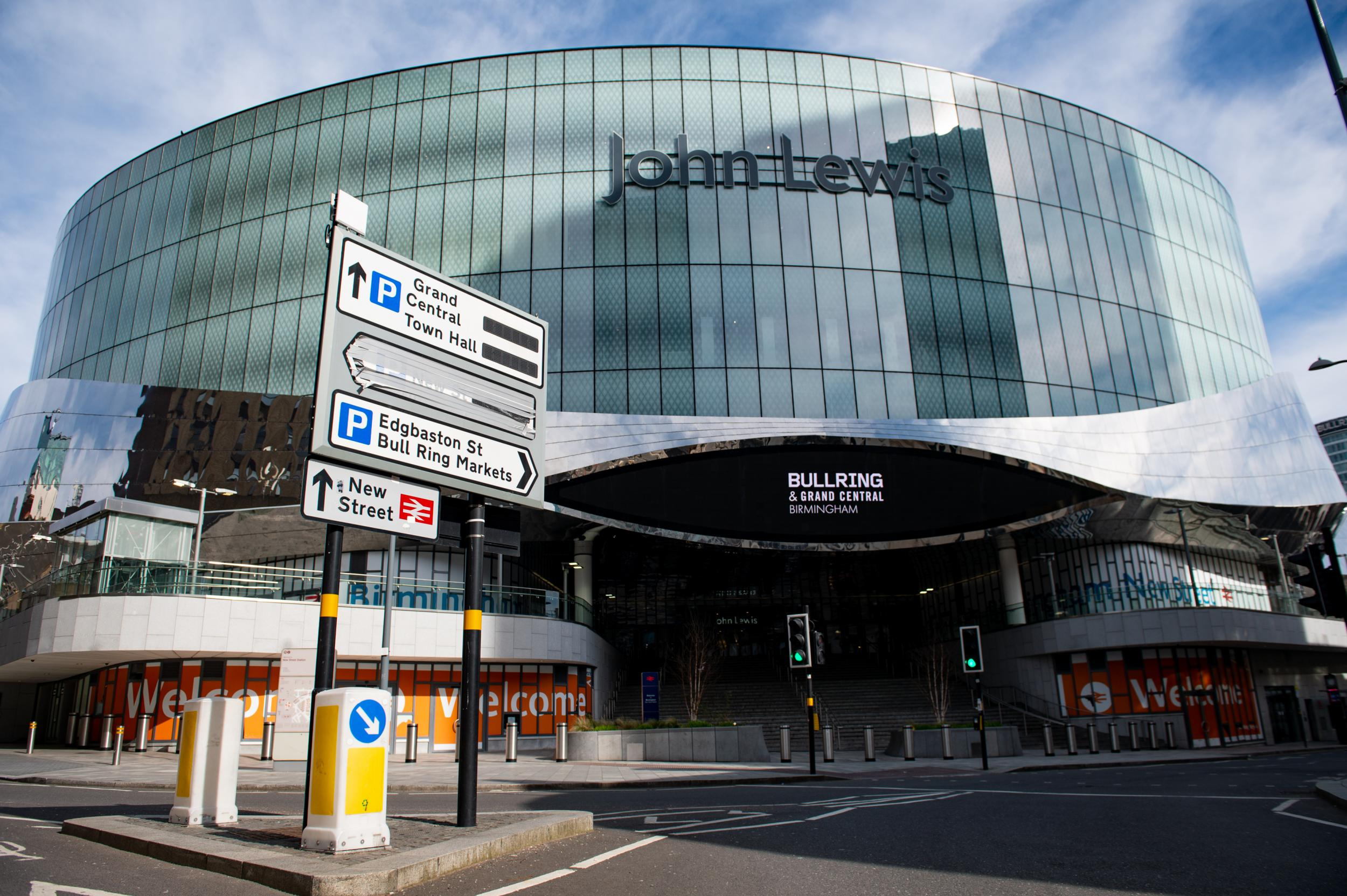 John Lewis confirms 8 retailer closures including Birmingham flagship