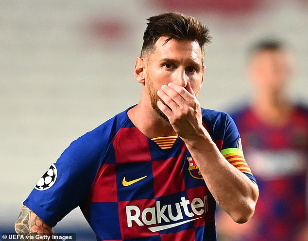 Juventus have sensationally entered the running to snap up Barcelona talisman Lionel Messi