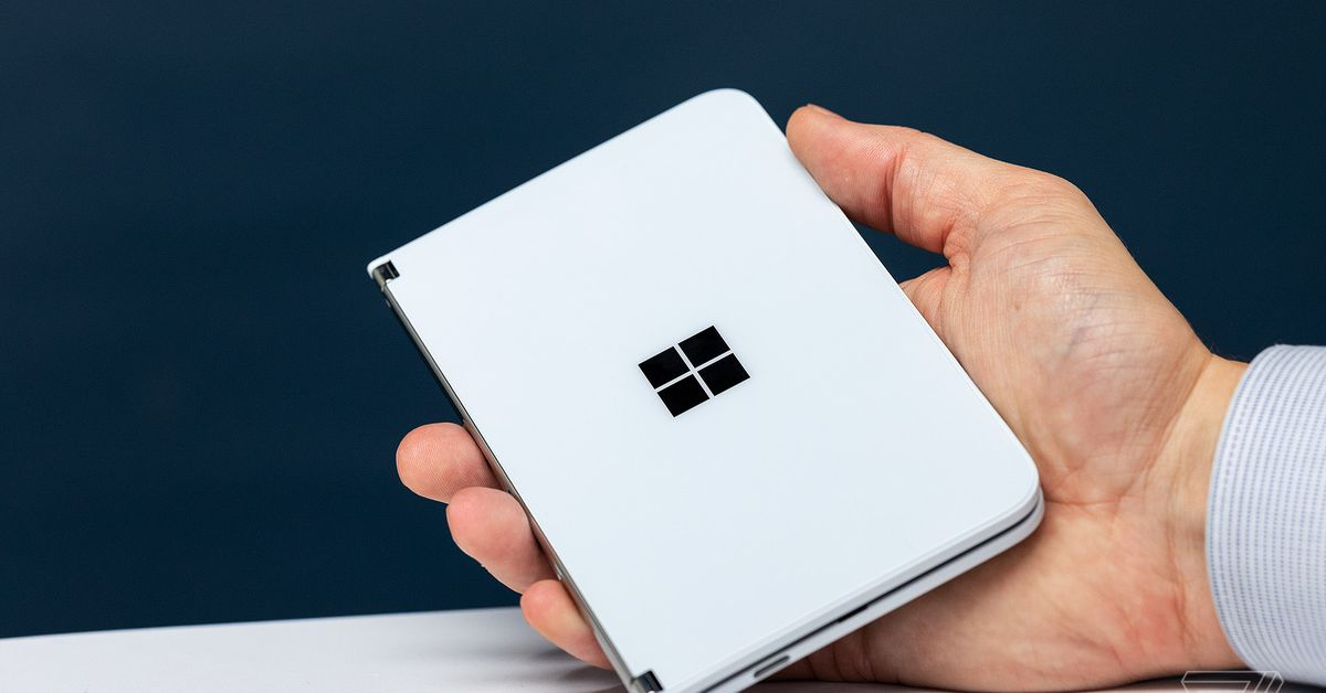 Listen to what we have explained about the Surface Duo hardware so much