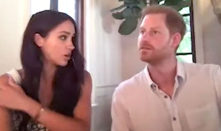 Meghan Markle information: Duchess slaps down Prince Harry after his remark on her age – Video clip | Royal | Information
