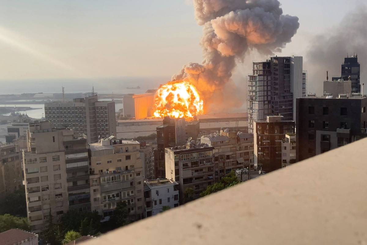 New footage reveals Beirut explosion up-near and in sluggish movement