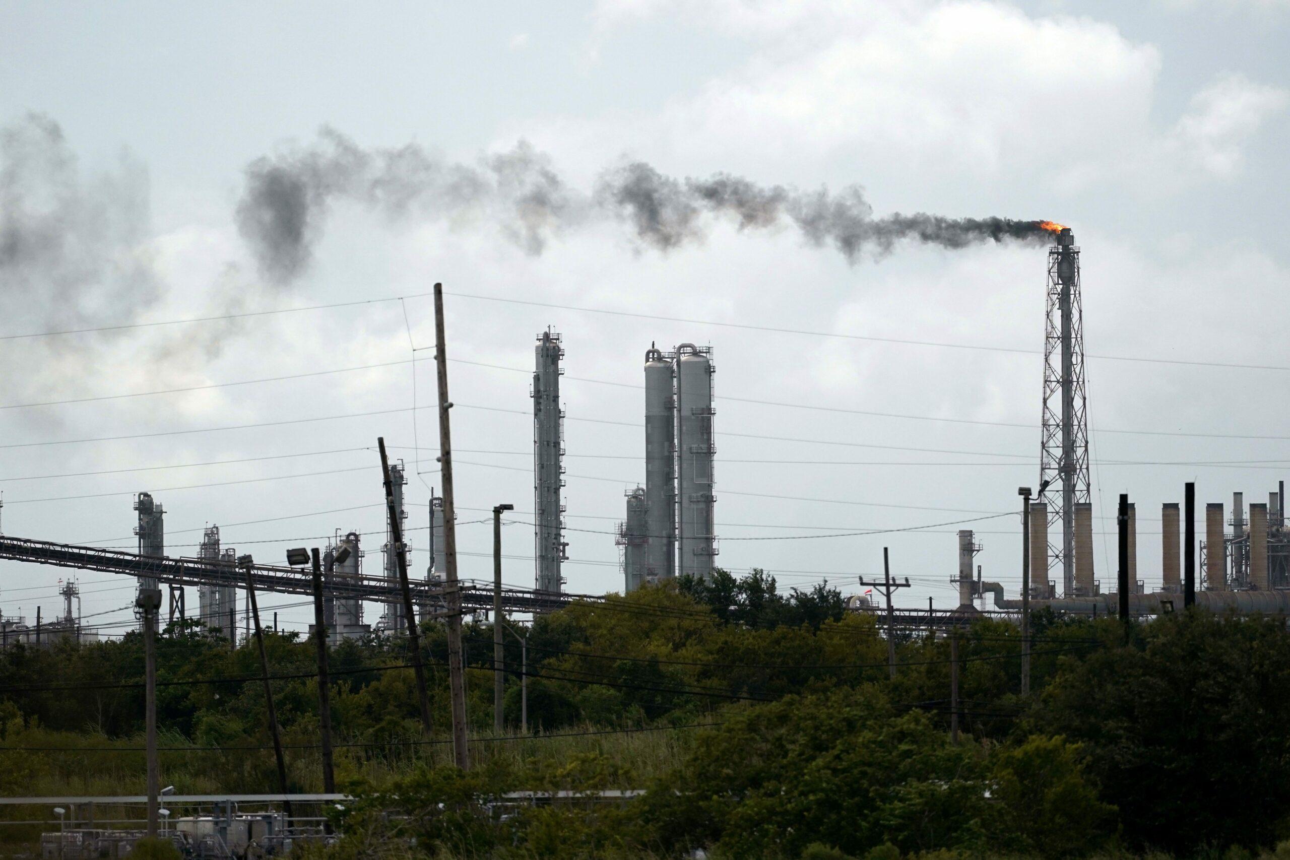 Oil and gasoline business assesses destruction at refineries, vegetation