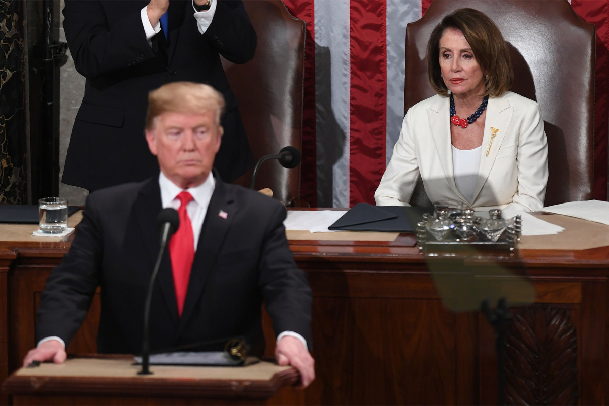 Pelosi slams Trump thought to give conference speech at White Property