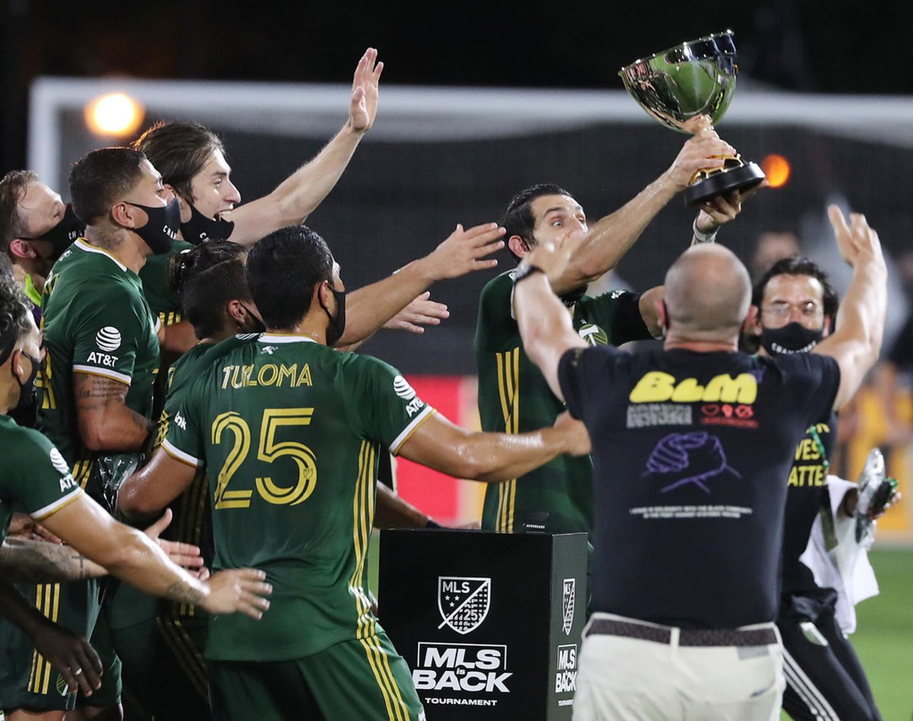 Portland Timbers gain MLS is Back tournament, capping off magical Cinderella operate in virus-free bubble