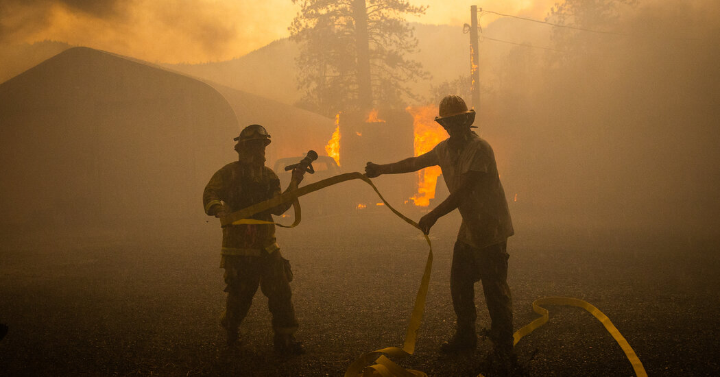 Reside Updates of the California Wildfires