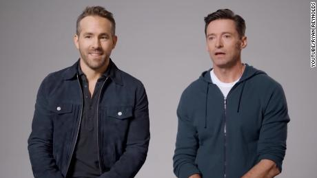 Ryan Reynolds and Hugh Jackman are calling a truce for a good cause