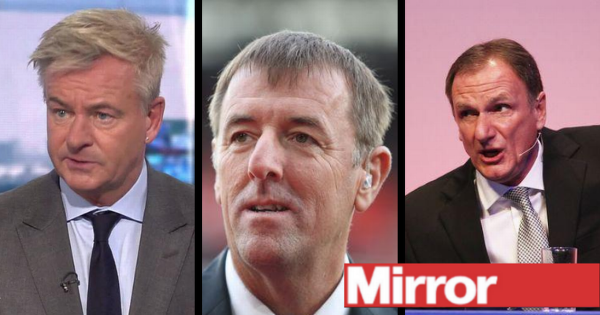 Sky Sports sack Soccer Saturday stars Matt Le Tissier, Charlie Nicholas and Phil Thompson