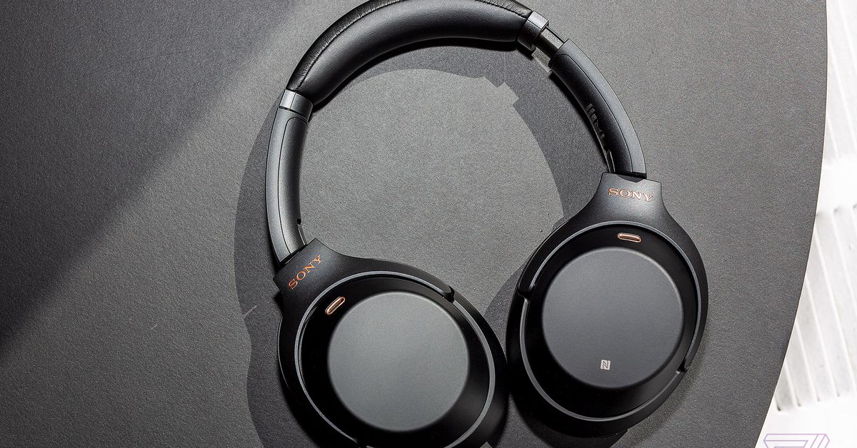 Sony's WH-1000XM3 wireless noise-canceling headphones are $100 off