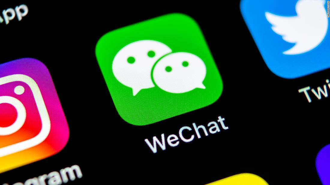 Tencent stock plummets after Trump announces program to ban WeChat in the US