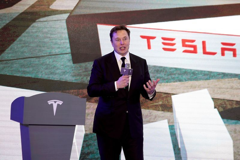 Tesla's Musk hints of battery capability jump ahead of business occasion