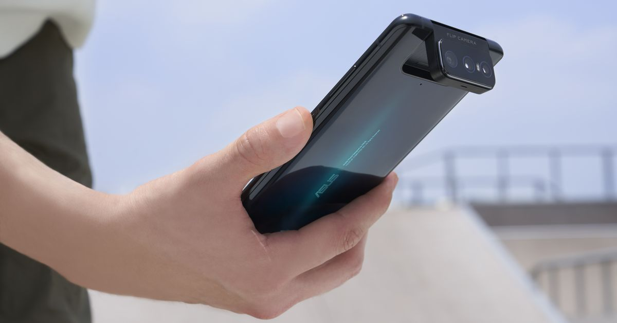 The Asus Zenfone 7 provides a 3rd lens to its neat flipping digicam