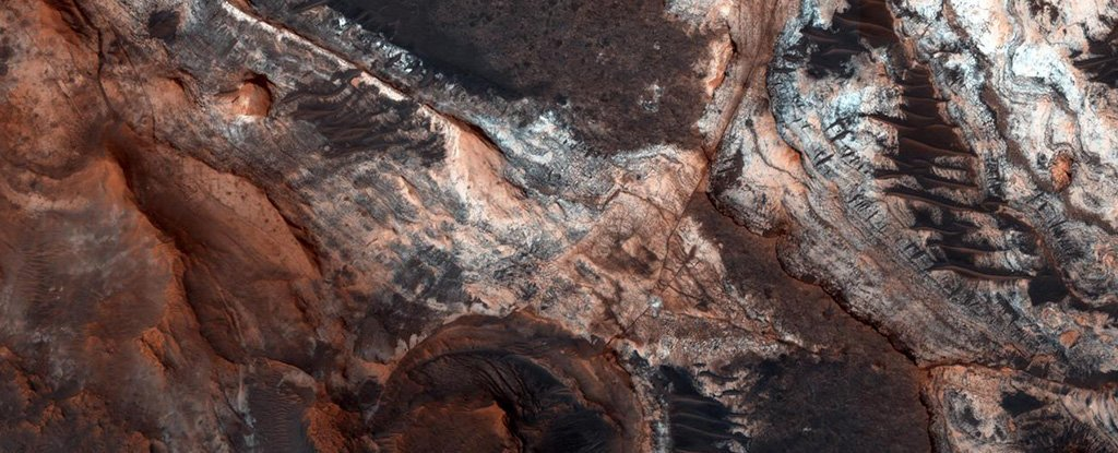 The Majestic Valleys of Mars May possibly Not Have Been Carved by Rivers Just after All