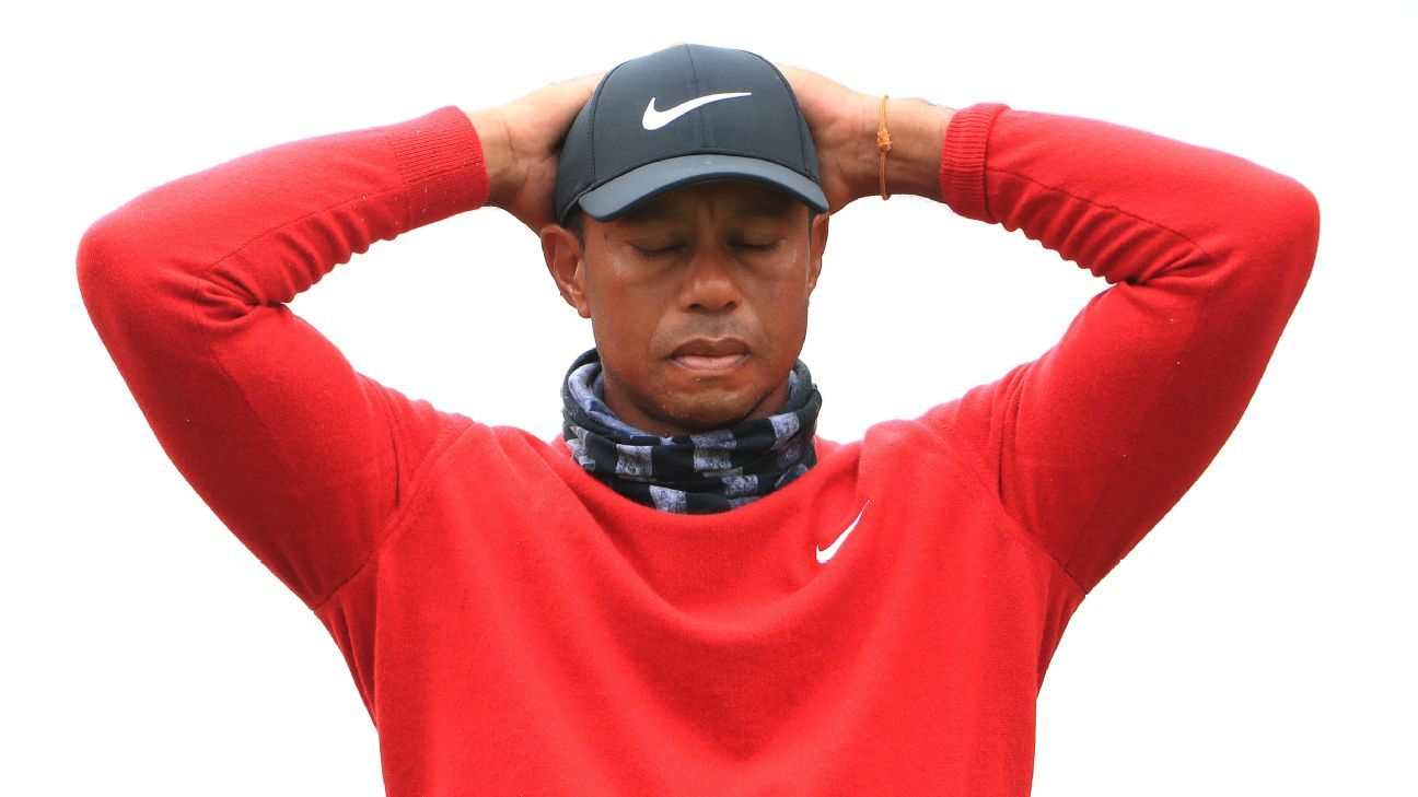 Tiger Woods has work to do and not a lot of time to do it after PGA Championship